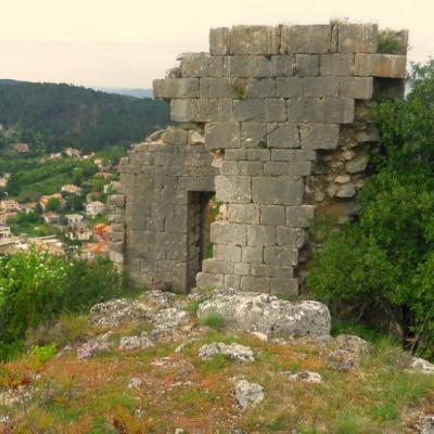 les ruines de Soucanton